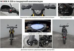 Мотоцикл Минск x 250 M1NSK (Беларусь)